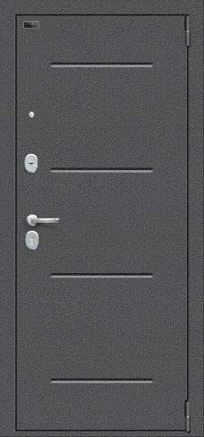 Porta S 104.П61, цвет: Антик Серебро/Wenge Veralinga